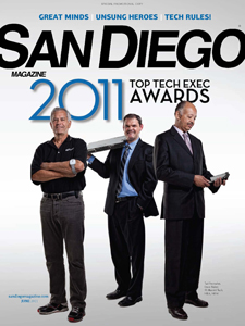 Reynales on the cover of San Diego Magazine