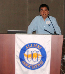 GP Li addresses Alumni Association