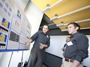 A panel of about 15 NSF site reviewers spent three days at UCSD, listening to presentations by TDLC scientists, seeing demonstrations of technologies developed in TDLC affiliated groups and reading research posters.