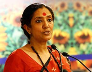 IGNCA Joint Secretary <b>Aditi Mehta</b> - 10_15_09_ignca_methi