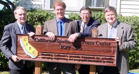 Dedication of the California Spatial Reference Center