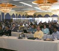 Attendees at GEON meeting
