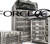Force 10 Networks logo and E-series