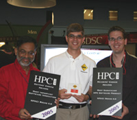 SDSC Rocks team accepts two HPCwire awards
