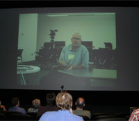 John Carter talking with the Calit2 audience