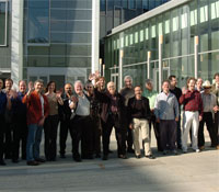 M&T group in front of Calit2 building