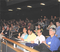 Startup Bootcamp audience in Calit2 auditorium