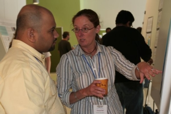 Pamela Hall and Sidath Kumarapperuma