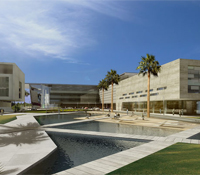 3D architectural rendering of KAUST campus