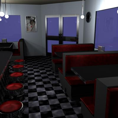 Diner by Joey Hammer