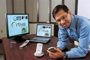 Sujit Dey founded Ortiva Wireless