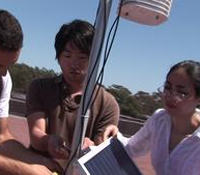 Undergrads deploy weather station on UCSD rooftop