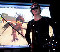 UCSD graduate student Micha Cardenas will spend 365 consecutive hours immersed in Second Life, an on
