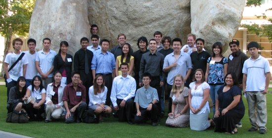 2008 summer scholar group photo