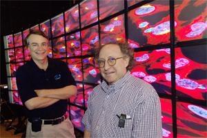 Larry Smarr and Mark Ellisman