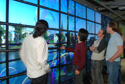HIPerSpace OptIPortal at Calit2 in San Diego