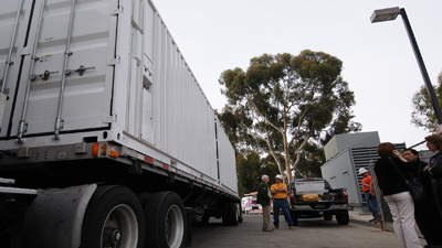 Delivery of modular datacenter