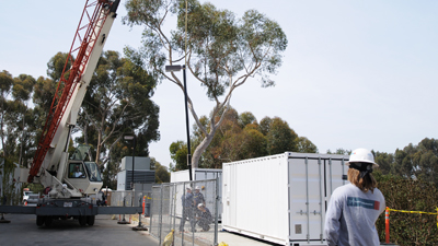 Installed Sun Modular Datacenters at UCSD