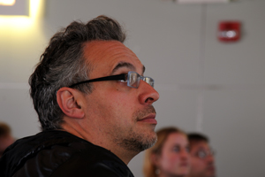 Lev Manovich, a professor of visual arts and a Calit2-affiliated researcher at UCSD.