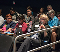 Audience at Symposium on Gender Equity & Global Reproductive Health