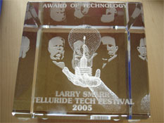 Telluride Tech Fest Award of Technology for Smarr