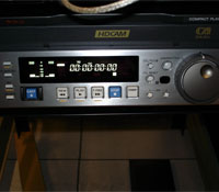 Tape deck of the kind Venter used