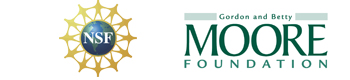 NSF and Moore Foundation logos