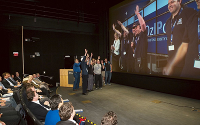 Virtual High-Five for Calit2 and Univ of Melbourne