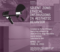 Silent Zone: new exhibition in gallery@calit2