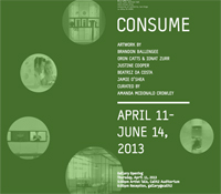 CONSUME exhibition in gallery@calit2