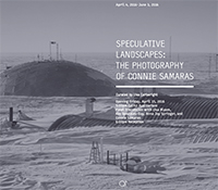 Poster for Speculative Landscapes: The Photography of Connie Samaras