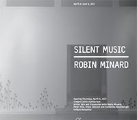 Silent Music exhibition by Robin Minard in gallery@calit2