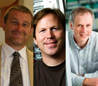 ACM Fellows Pavel Pevzner, Stefan Savage, David Abramson