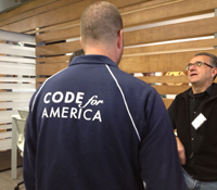 Attendees at Code Across America in San Diego