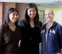 Grad student mentor (at right) with MDP undergraduate authors